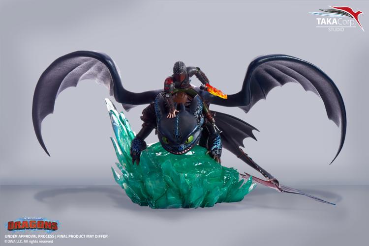 Dragons - Figurine Krokmou et Harold