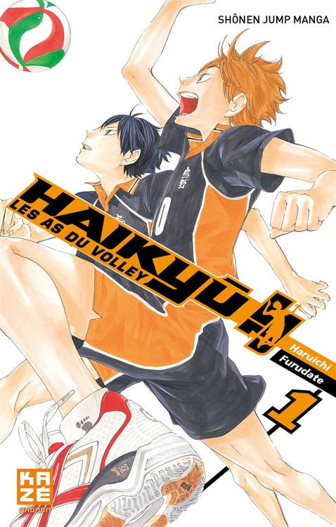 Haikyuu - Les AS du Volley Tome 01.