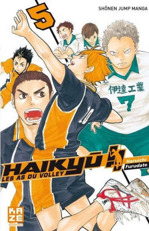Haikyuu - Les AS du Volley Tome 05