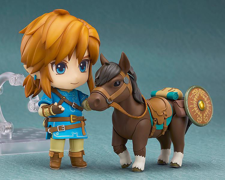 The Legend of Zelda: Breath of the Wild - 733-DX Nendoroid Link: Breath of the Wild Ver. DX Edition