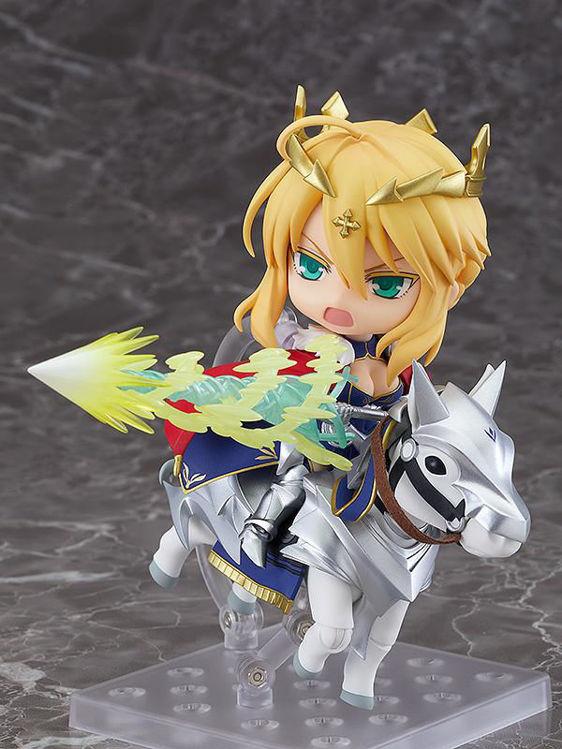Fate Grand Order - 1532-DX Nendoroid Lancer Altria Pendragon & Dun Stallion