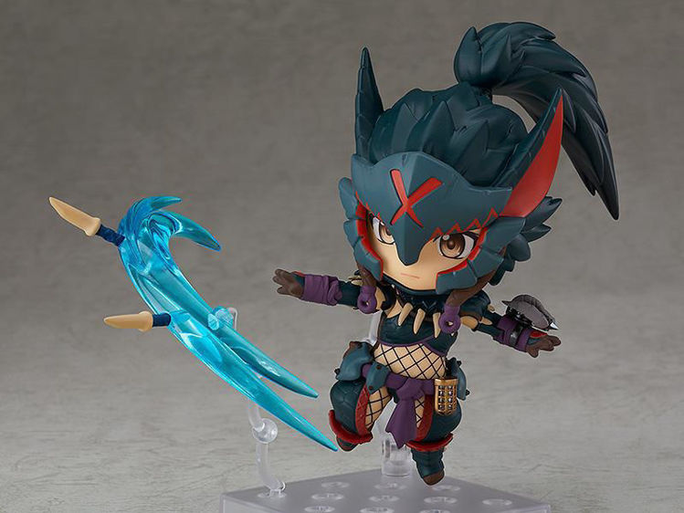 Monster Hunter World Iceborne - 1284 Nendoroid Hunter Female Nargacuga Alpha Armor Ver.