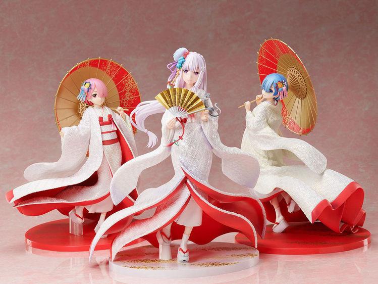 Re:ZERO -Starting Life in Another World- Figurine Emilia : Shiromuku Ver.