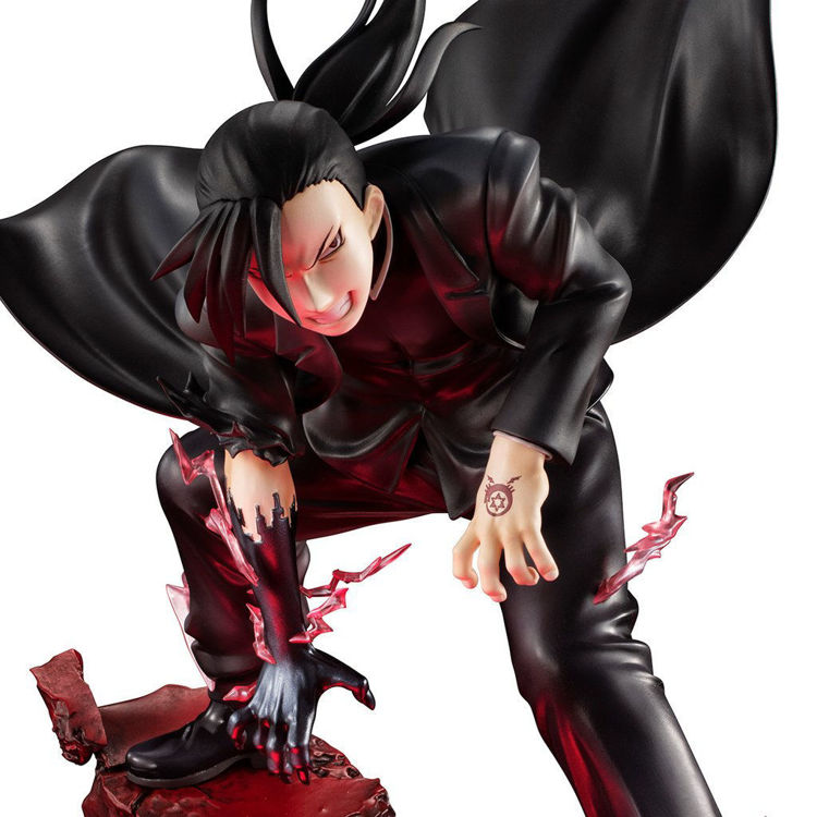 Fullmetal Alchemist - Figurine Greed (Lin Yao) (With LED Base Stand)
