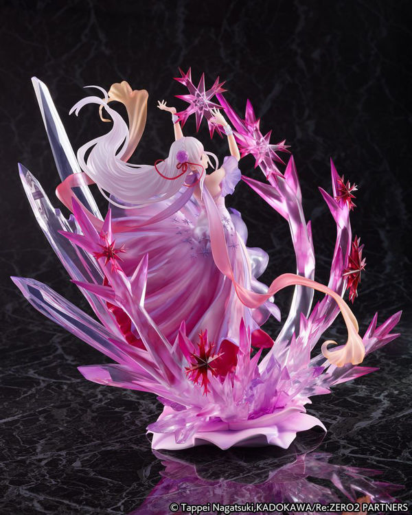 Re:ZERO -Starting Life in Another World - Figurine Emilia: Crystal Dress Ver.