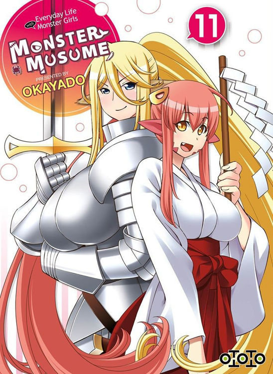 Monster Musume - Everyday Life with Monster Girls Tome 11