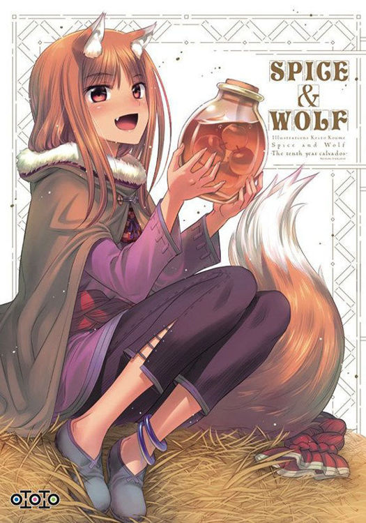 Artbook - Spice & Wolf : The Tenth Year Calvados
