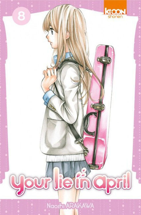 Your Lie in April Tome 08