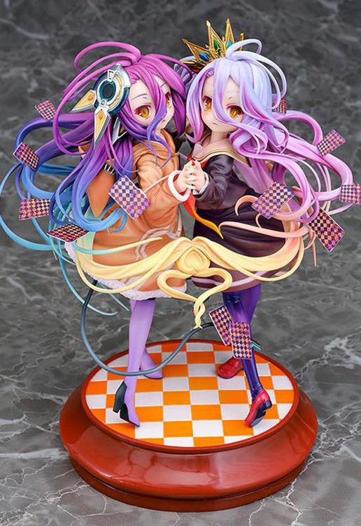 No Game No Life : Zero - Figurine Shiro & Schwi