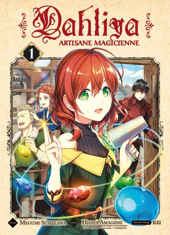 Dahliya, Artisane Magicienne Tome 01