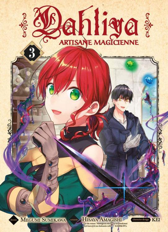 Dahliya, Artisane Magicienne Tome 03