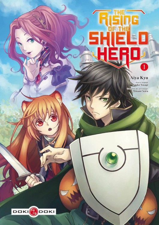 The Rising of the Shield Hero Tome 01