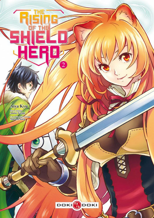 The Rising of the Shield Hero Tome 02