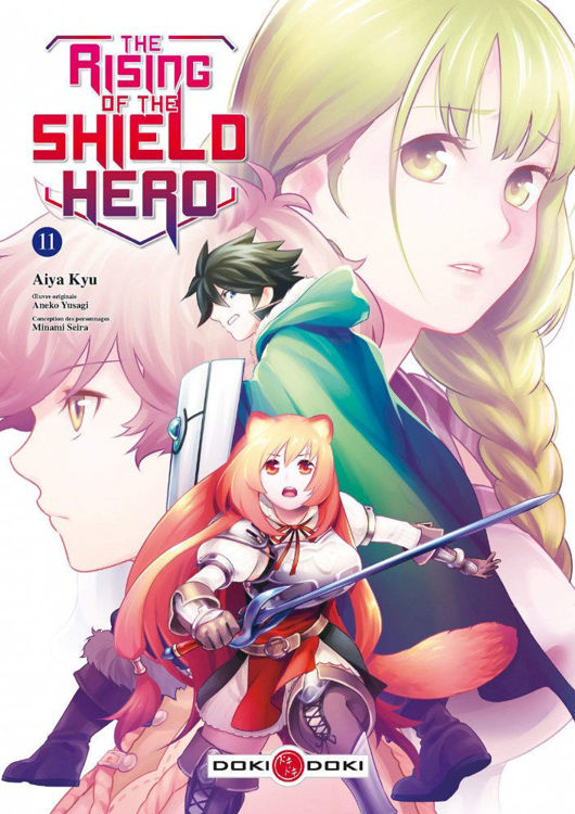 The Rising of the Shield Hero Tome 11