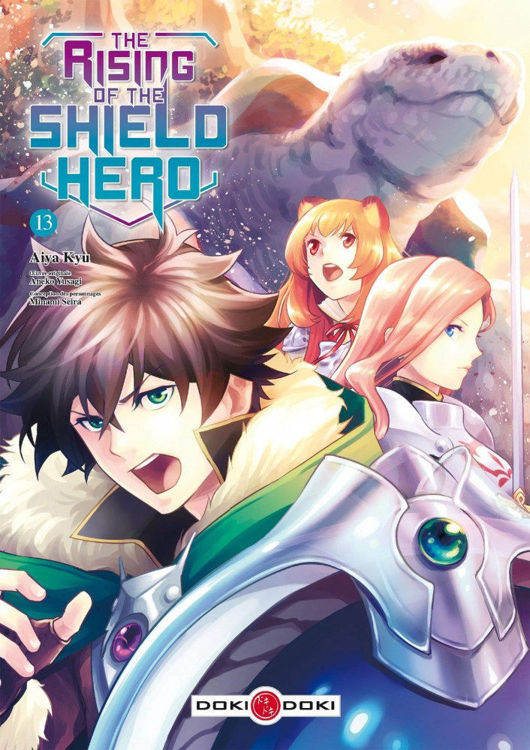 The Rising of the Shield Hero Tome 13