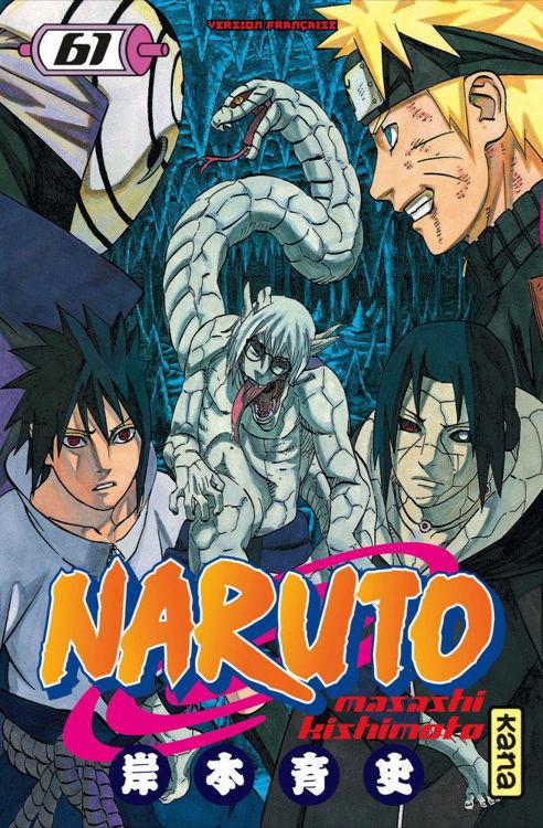 Naruto Tome 61