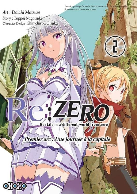 Image de Re:Zero - Re:Life in a Different World From Zero - Premier Arc Tome 02