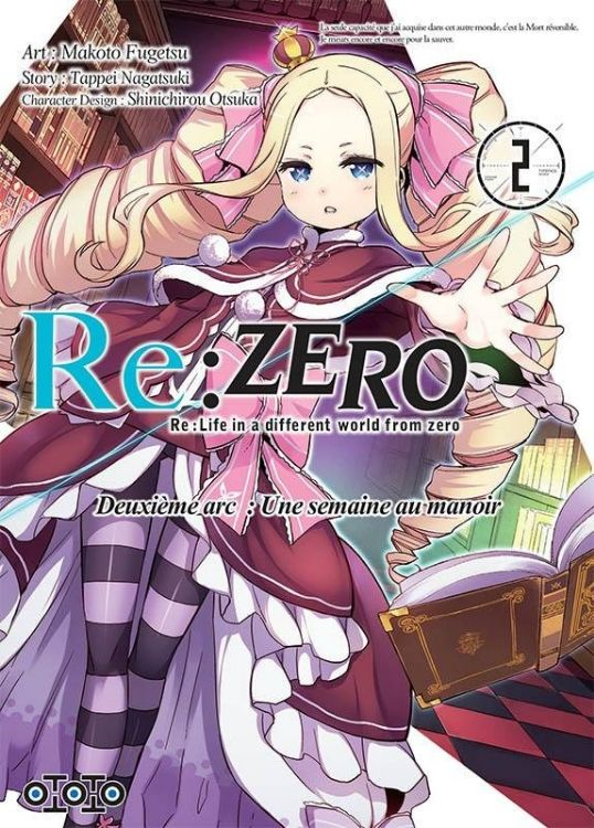 Re:Zero - Re:Life in a Different World From Zero - Deuxième Arc Tome 02