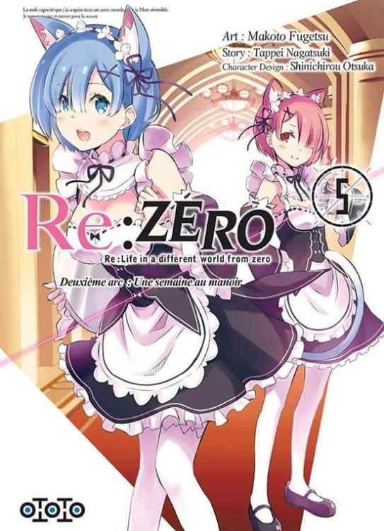 Re:Zero - Re:Life in a Different World From Zero - Deuxième Arc Tome 05