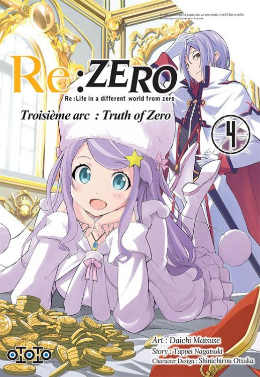 Re:Zero - Re:Life in a Different World From Zero - Troisième Arc Tome 04