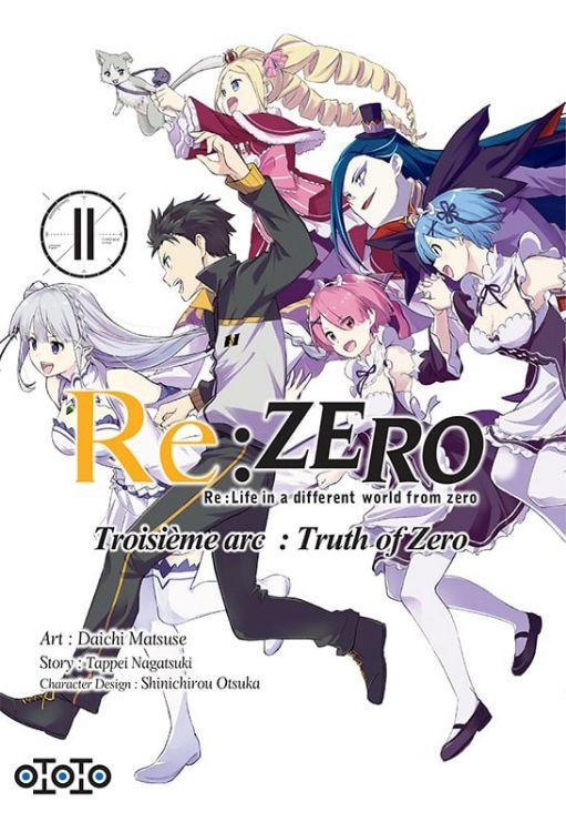 Re:Zero - Re:Life in a Different World From Zero - Troisième Arc Tome 11