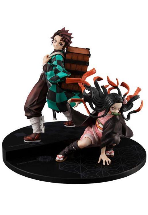 Demon Slayer - Figurine Kamado Brother & Sister