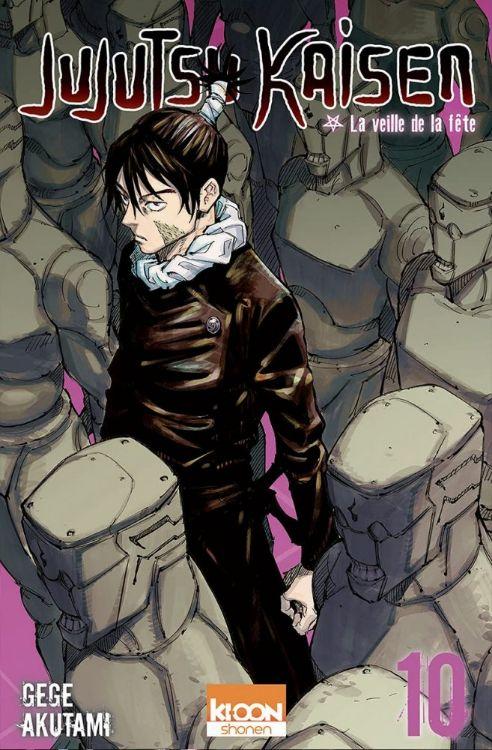 Jujutsu Kaisen Tome 10